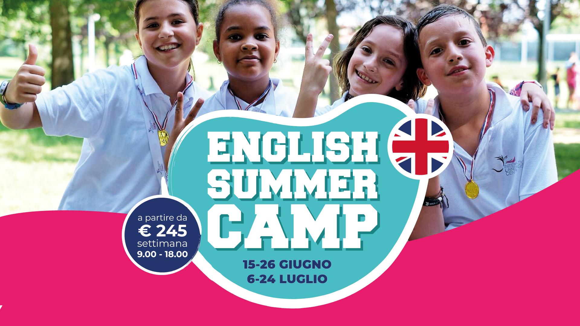English Summer Camp - International Language Center - Scuola di ...
