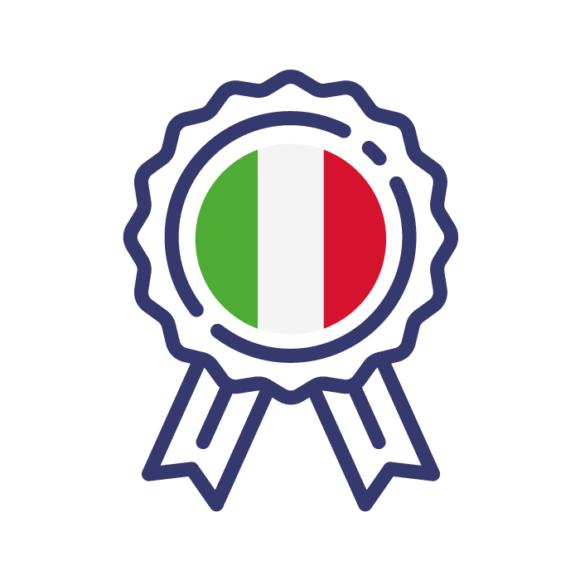 Certification en italien