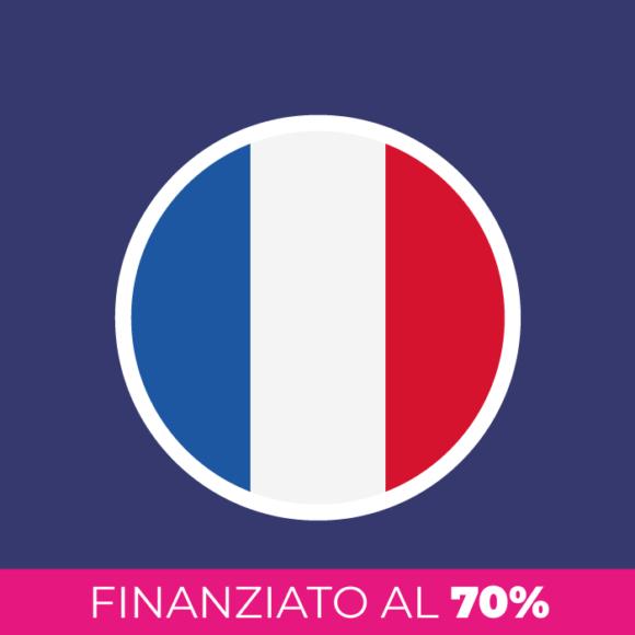 Corso di francese finanziato al 70%