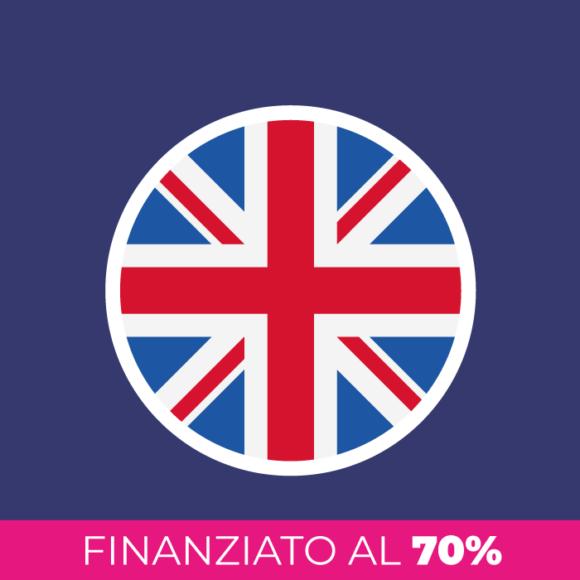 Corso di inglese finanziato al 70%