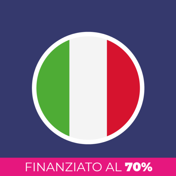 Corso di italiano per stranieri finanziato al 70%