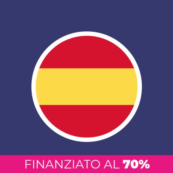 Corso di spagnolo finanziato al 70%