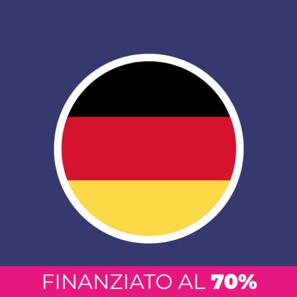 Corso di tedesco finanziato al 70%